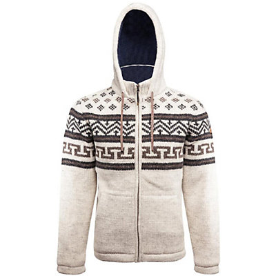 Sherpa Kirtipur Mens Sweater, Bagmati Sand, viewer