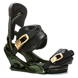 Burton Mission Snowboard Bindings 2017, Track Day Green, 256