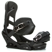 Burton Mission Snowboard Bindings 2017, Black, medium