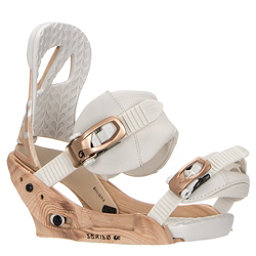 Burton Scribe EST Womens Snowboard Bindings 2017, Timber, 256