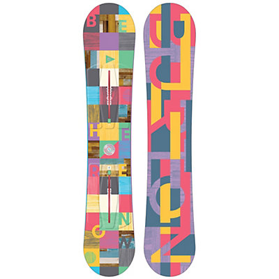 Burton Feather Womens Snowboard 2017, , viewer