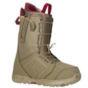 Burton Moto Snowboard Boots, Khaki-Print, medium