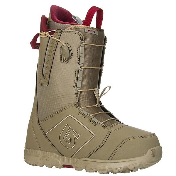 Burton Moto Snowboard Boots, Khaki-Print, 600