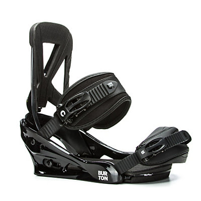 Burton Custom Snowboard Bindings 2017, Grayshark, viewer