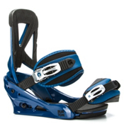Burton Custom Snowboard Bindings 2017, Blue, medium