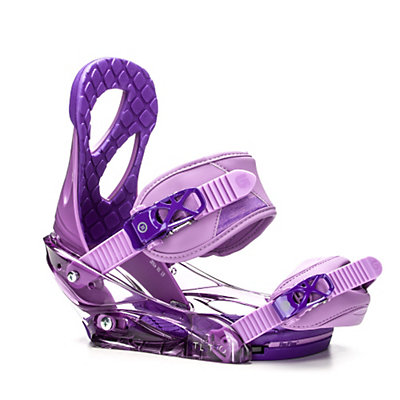 Burton Stiletto Womens Snowboard Bindings 2017, Purple, viewer