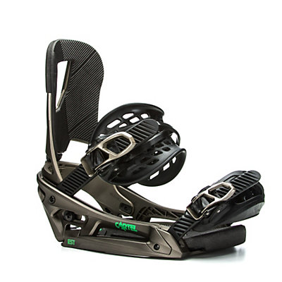Burton Cartel EST Snowboard Bindings 2017, Dusty Gold, viewer