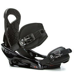 Burton Mission Smalls Kids Snowboard Bindings 2017, Black, 256