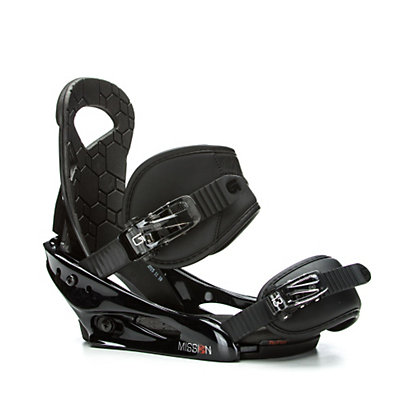 Burton Mission Smalls Kids Snowboard Bindings 2017, Black, viewer