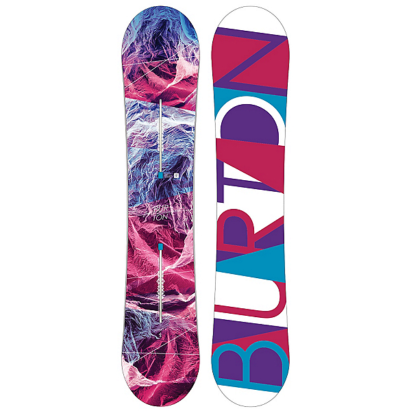Burton Feelgood Flying V Womens Snowboard, , 600