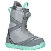 Burton Starstruck Boa Womens Snowboard Boots 2017, Gray-Spearmint, medium