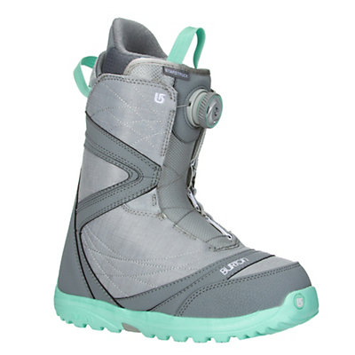 Burton Starstruck Boa Womens Snowboard Boots 2017, Gray-Spearmint, viewer