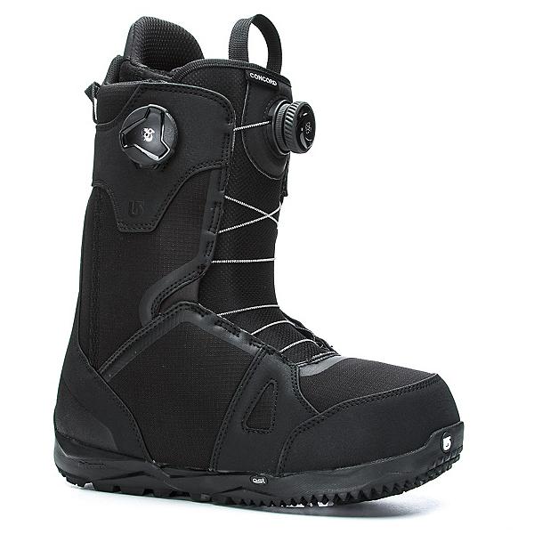 Burton Concord Boa Snowboard Boots, Black, 600