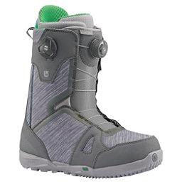 Burton Concord Boa Snowboard Boots 2017, Gray-Green, 256