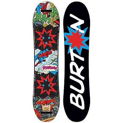 Burton Chopper LTD Marvel Boys Snowboard 2017, 90cm, viewer