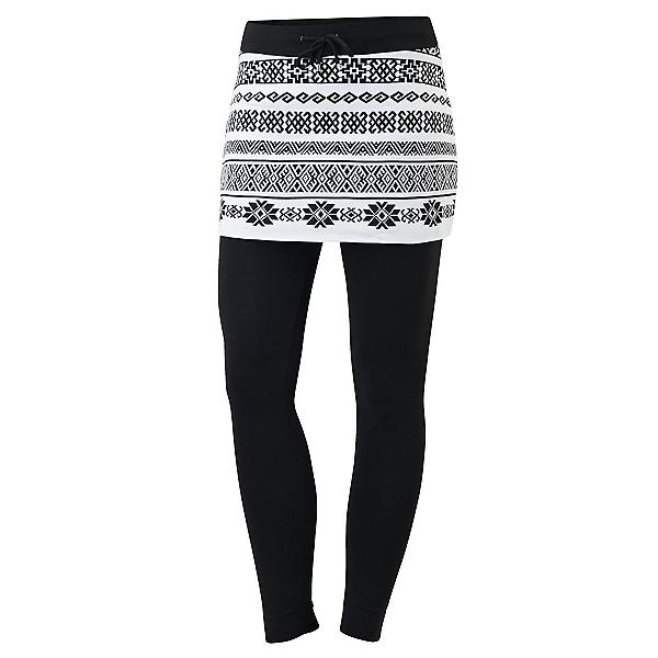 Newland Carlotta Skirted Womens Long Underwear Pants, Black-White, 600