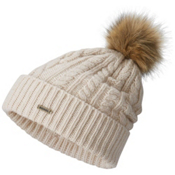 Sorel Addington Lux PomPom Beanie, Bisque, medium