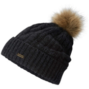 Sorel Addington Lux PomPom Beanie, Jet, medium