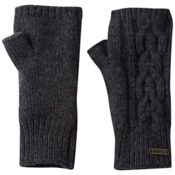 Sorel Addington Lux Fingerless Womens Gloves, Jet, medium