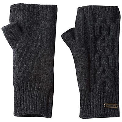 Sorel Addington Lux Fingerless Womens Gloves, Jet, viewer