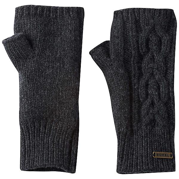 Sorel Addington Lux Fingerless Womens Gloves, Jet, 600