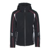 Rh+ Logo Mens Insulated Ski Jacket, Black-White, medium