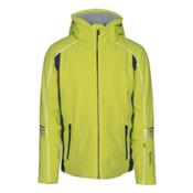 Rh+ Logo Mens Insulated Ski Jacket, Acid Green-Grey, medium