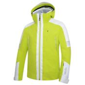 Rh+ Zero Mens Insulated Ski Jacket, Acid Green-White, medium