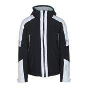 Rh+ Zero Mens Insulated Ski Jacket, Black-White, medium