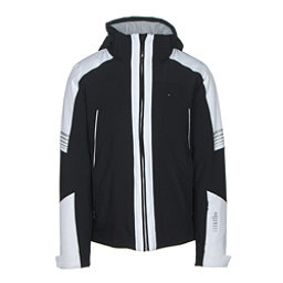 Rh+ Zero Mens Insulated Ski Jacket, Black-White, 256