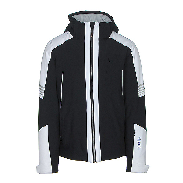 Rh+ Zero Mens Insulated Ski Jacket, Black-White, 600