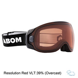 Abom One Goggles 2018, Resolution Red, 256