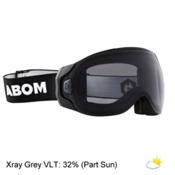 Abom Goggles 2017, Stealth Xray Grey, medium