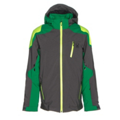 Spyder Speed Boys Ski Jacket, Polar-Jungle-Bryte Green, medium