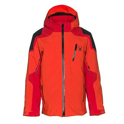 Spyder Speed Boys Ski Jacket, Electric Blue-Black-Rage, viewer