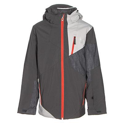 Spyder Enforcer Boys Ski Jacket, Polar-Cirrus-Herringbone Polar, viewer