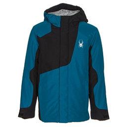 Spyder Flyte Boys Ski Jacket, Concept Blue-Black, 256