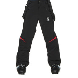 Spyder Force Kids Ski Pants (Previous Season), Black-Red, 256