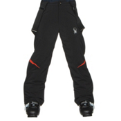 Spyder Force Kids Ski Pants, Black-Rage, medium