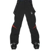 Spyder Force Kids Ski Pants, Black-Rage, medium