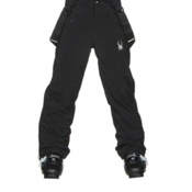 Spyder Force Kids Ski Pants, Black-Black, medium