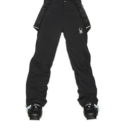 Spyder Force Kids Ski Pants, Black-Black, 256