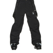 Spyder Force Plus Kids Ski Pants, Black, medium