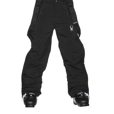 Spyder Force Plus Kids Ski Pants, Black, viewer