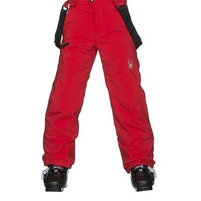 Spyder Propulsion Kids Ski Pants, Red, viewer