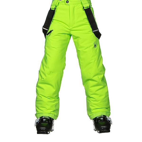 Spyder Propulsion Kids Ski Pants (Previous Season), Bryte Green, 600