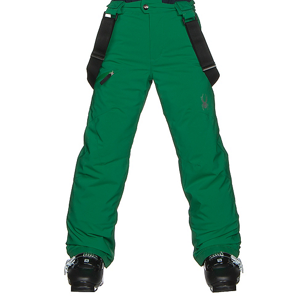 Spyder Propulsion Kids Ski Pants, Jungle, 600