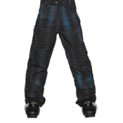 Spyder Action Kids Ski Pants, Space Armor Electric Blue Print, medium