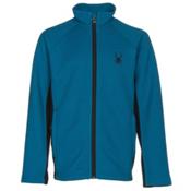 Spyder Constant Mid WT Kids Sweater, Concept Blue-Black, medium