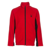 Spyder Constant Mid WT Kids Sweater, Red-Black, medium